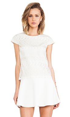 Dolce Vita Charlette Top in White