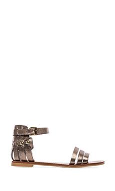 DV by Dolce Vita Daffodil Sandal in Dark Silver