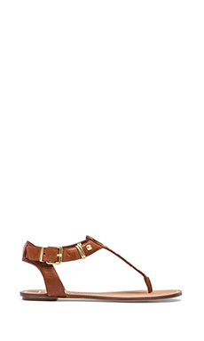 DV x Vanessa Mooney Avlynn Sandal in Cognac