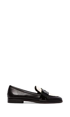 Dolce Vita Umbria Loafer in Black/White