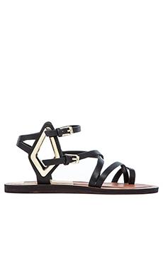 Dolce Vita Ferrah Sandal in Black