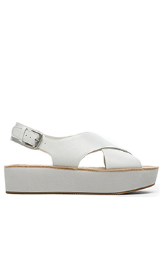 DV by Dolce Vita Ziggie Sandal in White