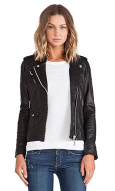 DOMA Moto Jacket in Black