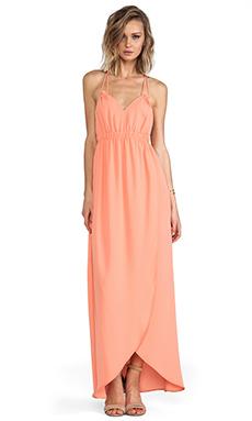 Donna Mizani Tulip Gown in Peach