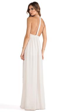 Donna Mizani Tulip Gown in French Beige