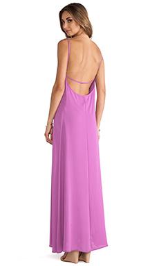 Donna Mizani Trapeze Gown in Magenta