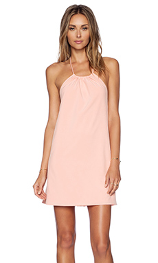 Donna Mizani Halter Mini Dress in Ballet