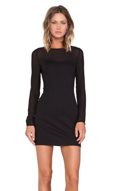 d.RA Missy Dress in Black