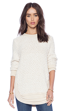 d.RA Astophor Sweater in Ivory