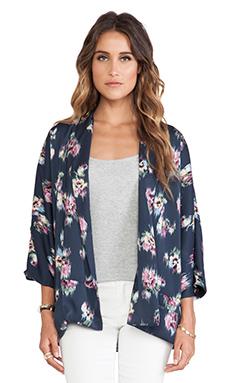 d.RA Dewberry Kimono in Printed Peach