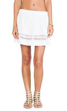 d.RA Heather Skirt in White
