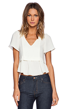 d.RA Keid Top in Ivory