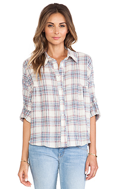 d.RA Lily Top in Plaid