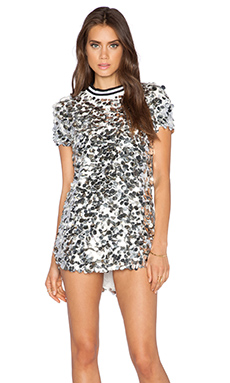 Dress Gallery Satellite Dress in Silver