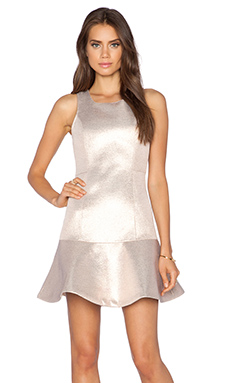 Dress Gallery Sirene Dress in Shiny Neoprene