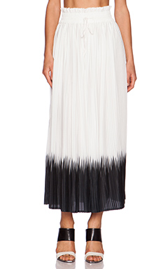 Dress Gallery Sunset Maxi Skirt in Ecru & Noir