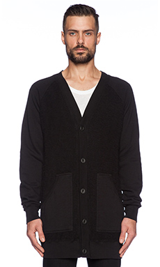 Drifter Advent Cardigan in Black