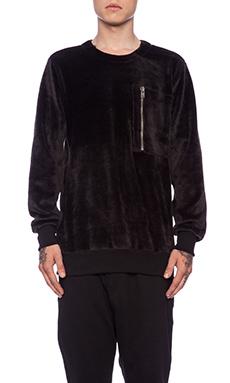 Drifter Zac Pullover in Black