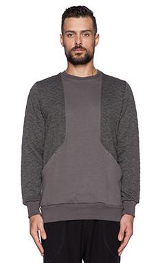 Drifter Warren Pullover in Grey