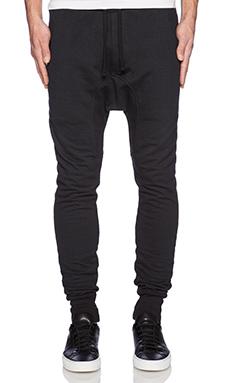 Drifter Transmit Sweatpants in Black