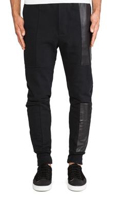 Drifter Hellion Sweatpant in Black