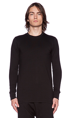 Drifter Lorimer Long Sleeve Tee in Black