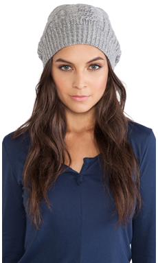 DUFFY Beanie in Potash & Fog Marl