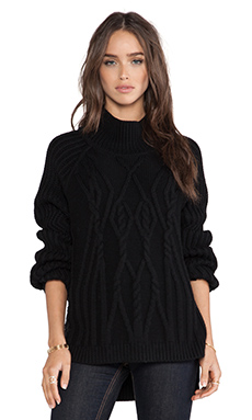 DUFFY Sweater in Black
