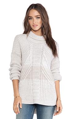 DUFFY Sweater in Oatmeal & Cream Marl