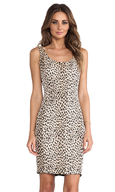 Diane von Furstenberg Arianna Dress in Carmel & New Pearl & Black