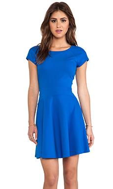 Diane von Furstenberg Delyse Dress in Blue Diamond