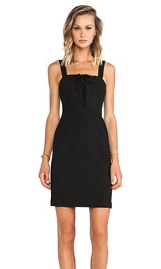 Diane von Furstenberg Scottland Dress in Black