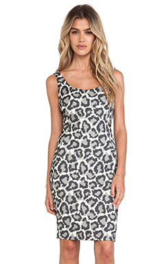 Diane von Furstenberg Arianna Dress in Black & Ivory & For