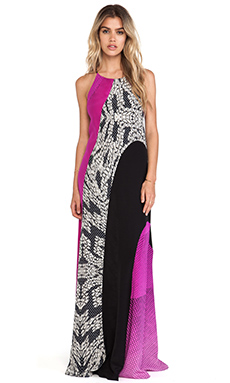 Diane von Furstenberg Naomi Maxi Dress in Speckle Multi