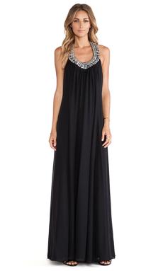Diane von Furstenberg Willemma Maxi Dress in Black