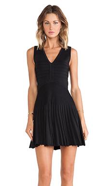 Diane von Furstenberg Fit and Flare Dress in Black