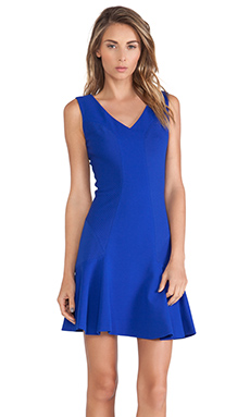 Diane von Furstenberg Carla Dress in Cosmic Cobalt
