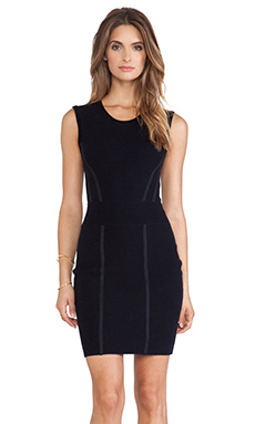 Diane von Furstenberg Bodycon Dress in Ink