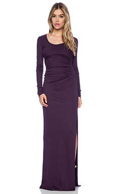 Diane von Furstenberg Maxi Gown in Purple Jewel