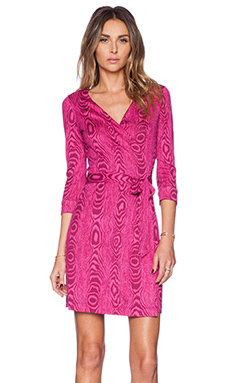 Diane von Furstenberg Jeanne Two Mini Dress in Pink