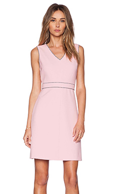 Diane von Furstenberg Leelou Dress in Pink Ice