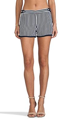 Diane von Furstenberg RUNWAY Tiffany Print Pant in January Stripe/Admiral Navy