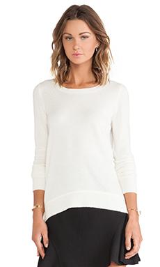 Diane von Furstenberg Solid Sweater in Ivory
