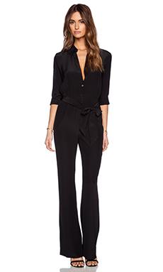 Diane von Furstenberg Lori Jumpsuit in Black