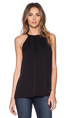 Diane von Furstenberg Pania Top in Black
