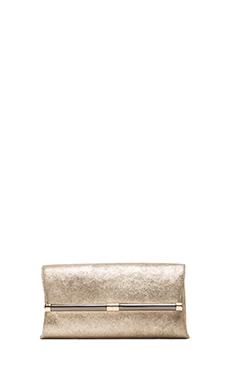 Diane von Furstenberg Envelope Clutch in Champagne