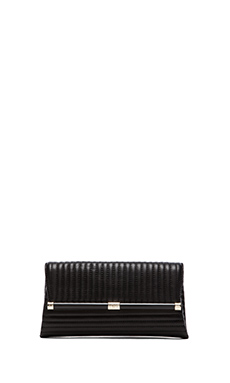 Diane von Furstenberg Envelope Clutch in Black