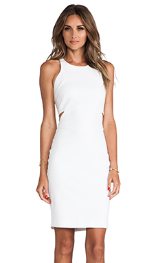 Elizabeth and James Lela Dress in White