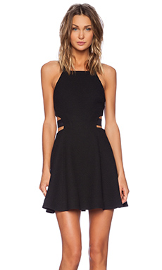 Elizabeth and James Kayne Dress in Black