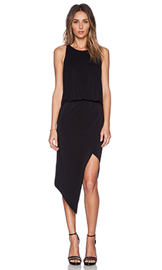Elizabeth and James Rowan Dress in Black